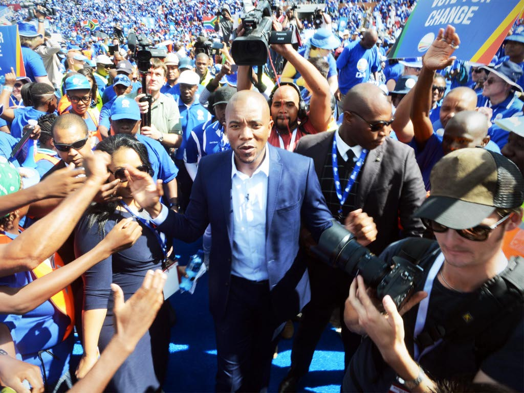 Maimane accuses ANC of excluding blacks people from the economy